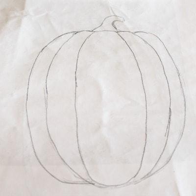 Pencil Pumpkin