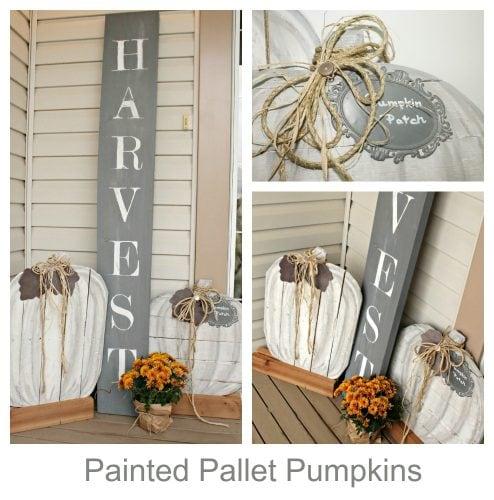 DIY, Pumpkin, Pallet, Fall