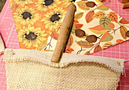 Pennant, DIY, Home Decor, Fall