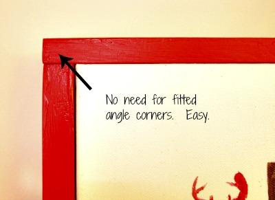 Christmas, Reindeer, Art, Crafts, DIY, Frame