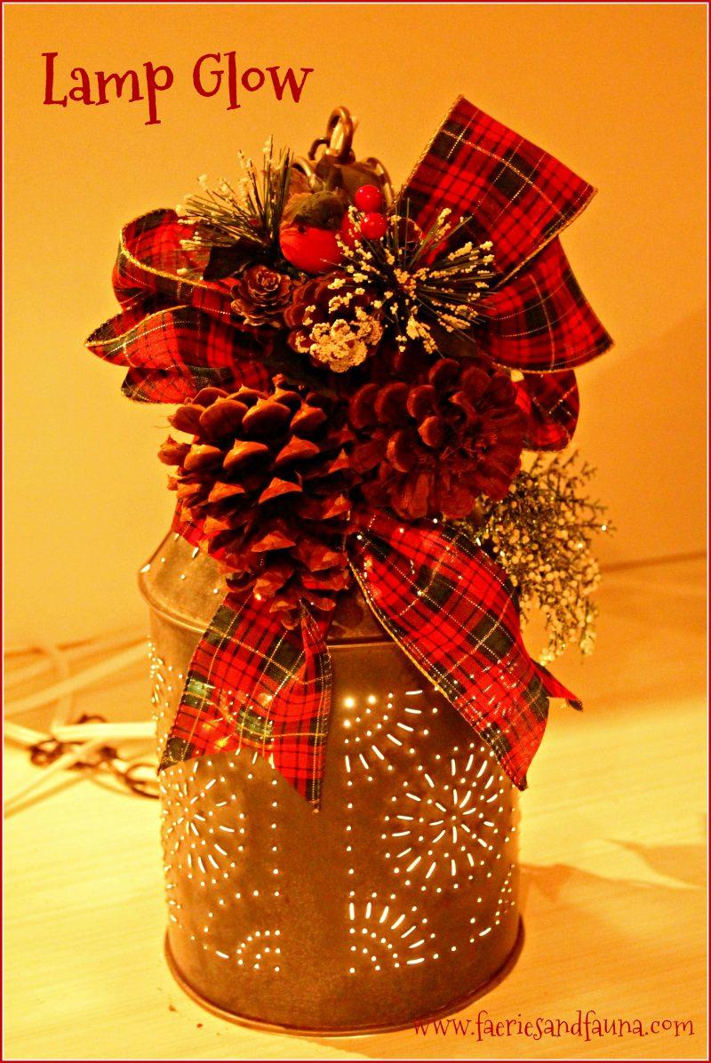 Christmas, Vintage, Punched Tin, DIY, Home Decor