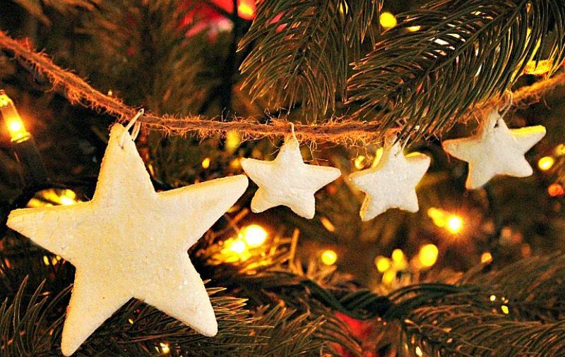Christmas, DIY, Ornament, Salt Dough