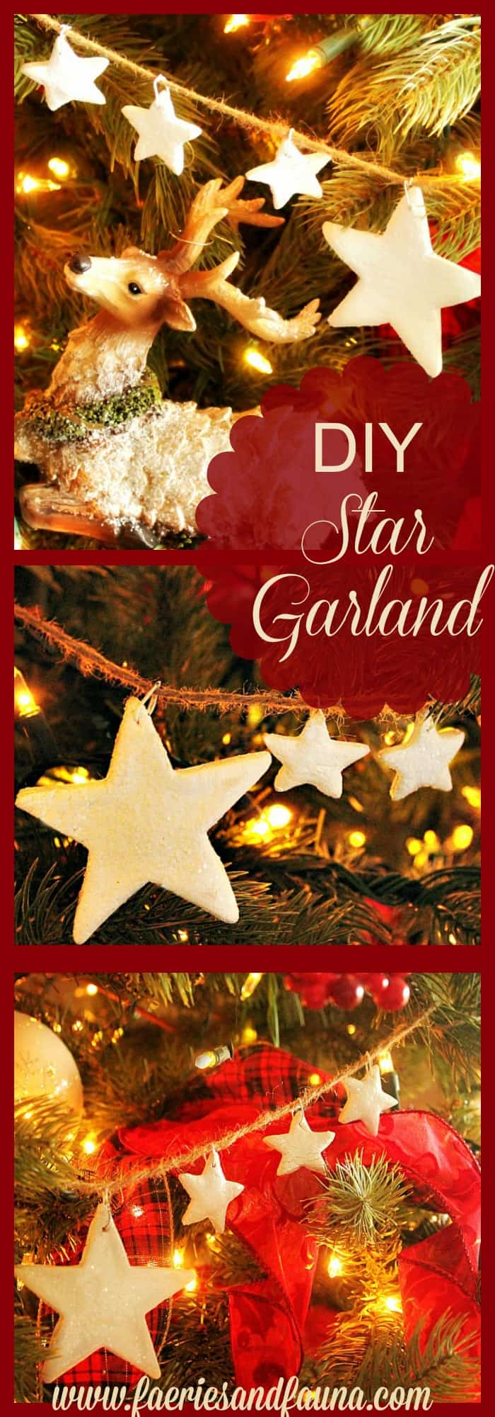 Christmas, DIY, Salt Dough, Ornament, Tree