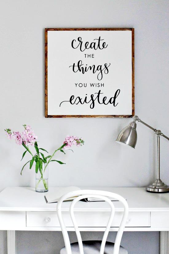 craft room printable,craft room inspiration, craft room art, diy craft room artwork, Craft room, DIY Craft rooms, DIY craft websites, DIY Home Decor, Organization, Craft Organization,
