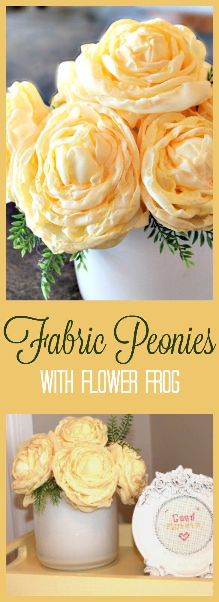 DIY flower, flower arrangement, Spring Decor, Fabric Flowers, Flower Tutorial, How to flowers, flower tutorial