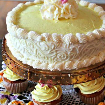 Bake an Amazing Cake with this Saskatoon Berry Cake Filling Recipe- Or Blueberry Cake Filling