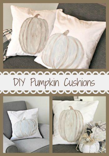 Pumpkin Cushions Pinterest