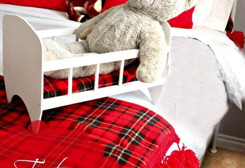Christmas, Bedroom Decor, Sewing, DIY, Crafts, Tartan, Afghan