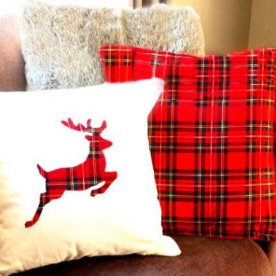 DIY Christmas Cushions of Many Kinds
