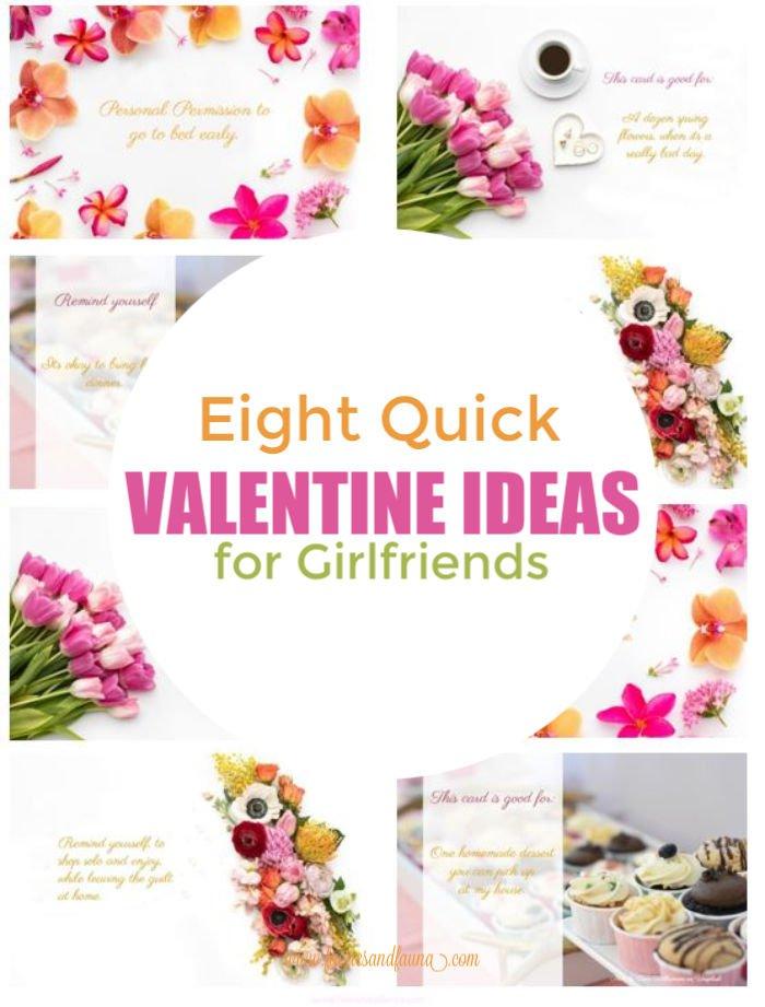 Valentine card ideas for girlfriends.