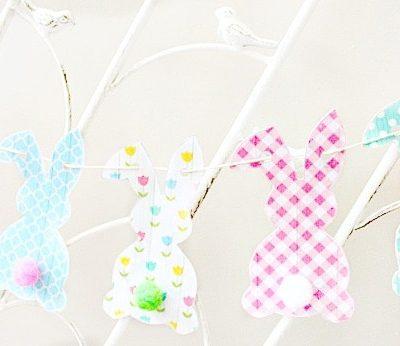Free Easter Bunny Banner Printable