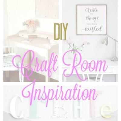 Craft Room Inspiration for a Budget DIY Makeover