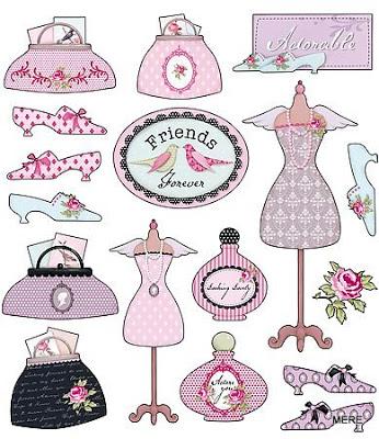 Tilda, tilda crafts, tilda paper crafts, shabby chic, cute diy