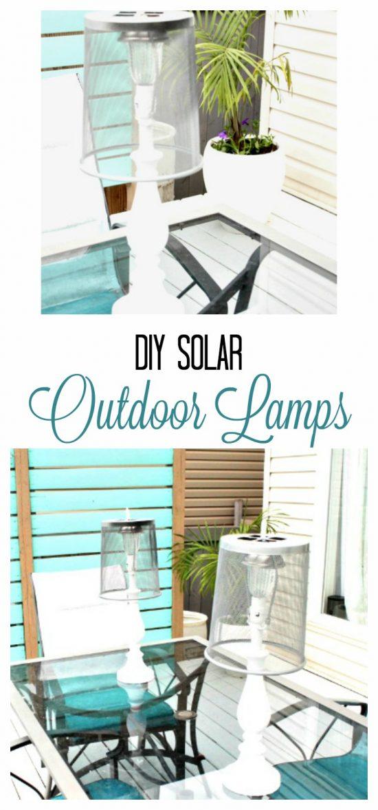 DIY Outdoor Lighting, DIY Solar Lights, Solar Light Ideas