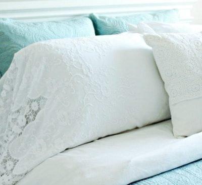 Luxury Linen Inspired Homemade Pillowcases