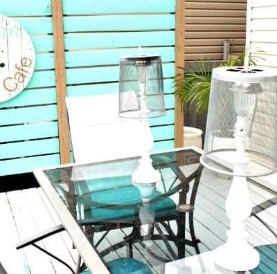 DIY Outdoor Lighting for the Deck