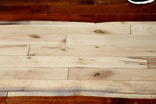 refinished hardwood