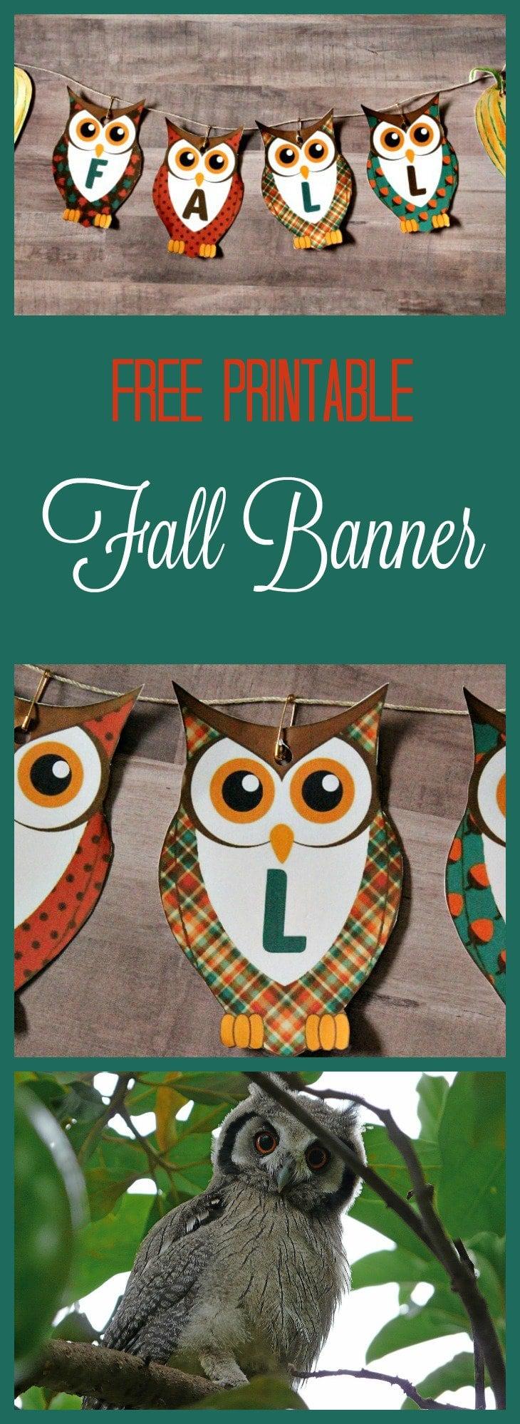Free Printable Banners, Fall Banner,printable banner