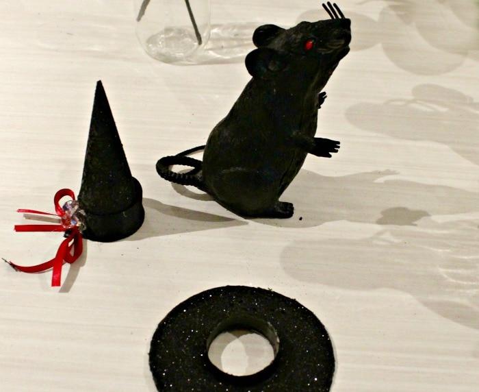 DIY Halloween Wreath, Halloween Craft Ideas, DIY Halloween Door Wreath