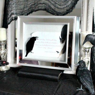 The Raven – Halloween Art