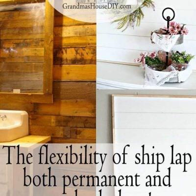 DIY Shiplap Wallart Background