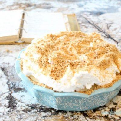 Flapper Pie  – With Graham Cracker Crust