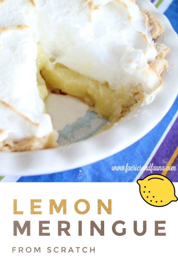 Classic lemon pie recipe.