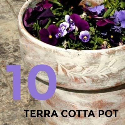 10 Painting Terra Cotta Pot Design Tutorials