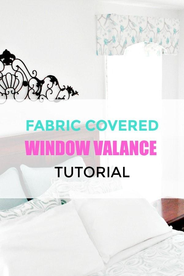 Easy to create window valance