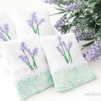 How to Make a Lavender DIY Sachet