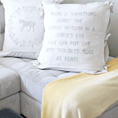 Easy Layered DIY Cushion Covers