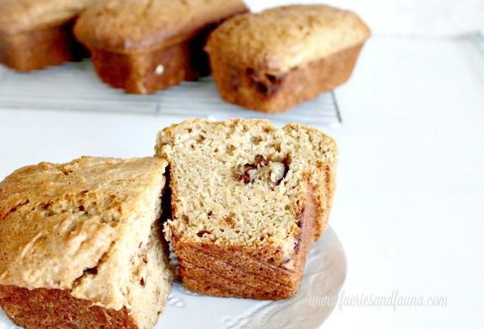 Pumpkin bread cooling. A moist and golden pumpkin bread recipe.