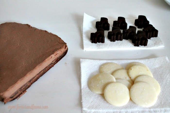 Ingredients for Halloween brownies