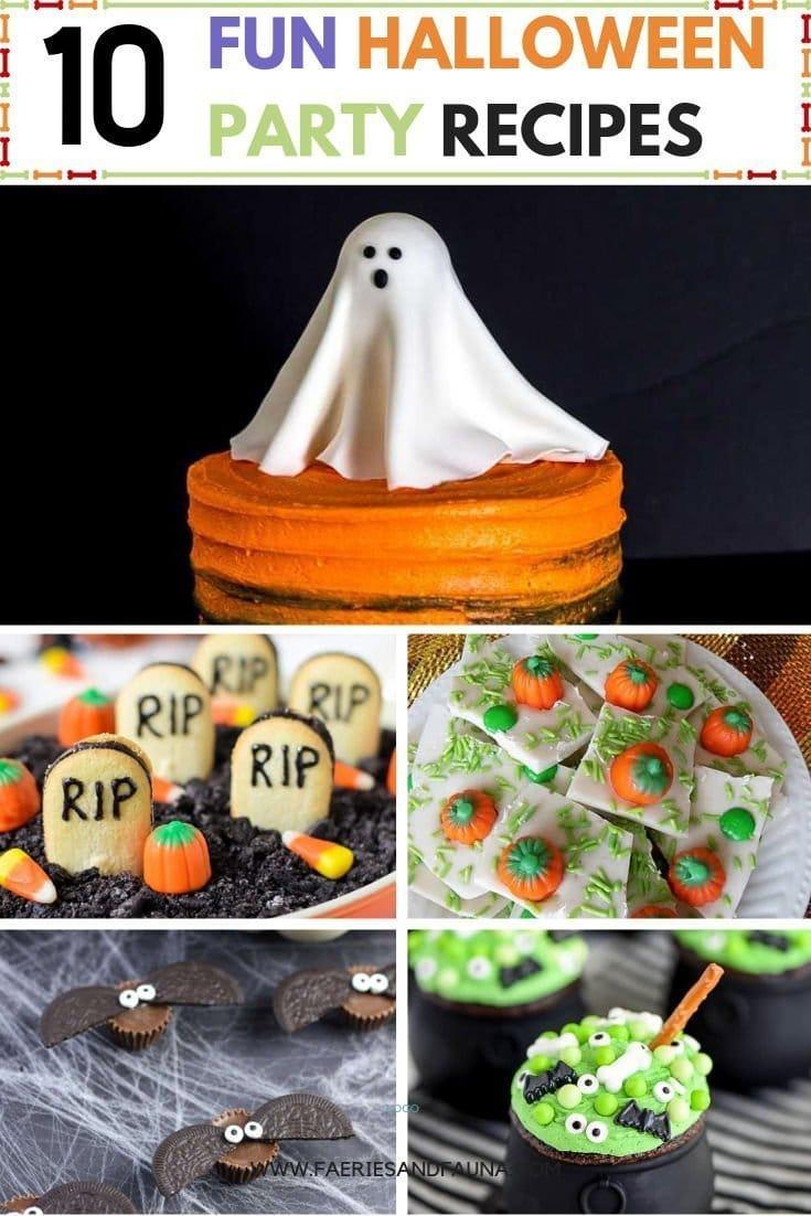 Halloween Treat Recipe ideas for kids. Treats for Halloween parties, halloween school parties, and Halloween treats for home.