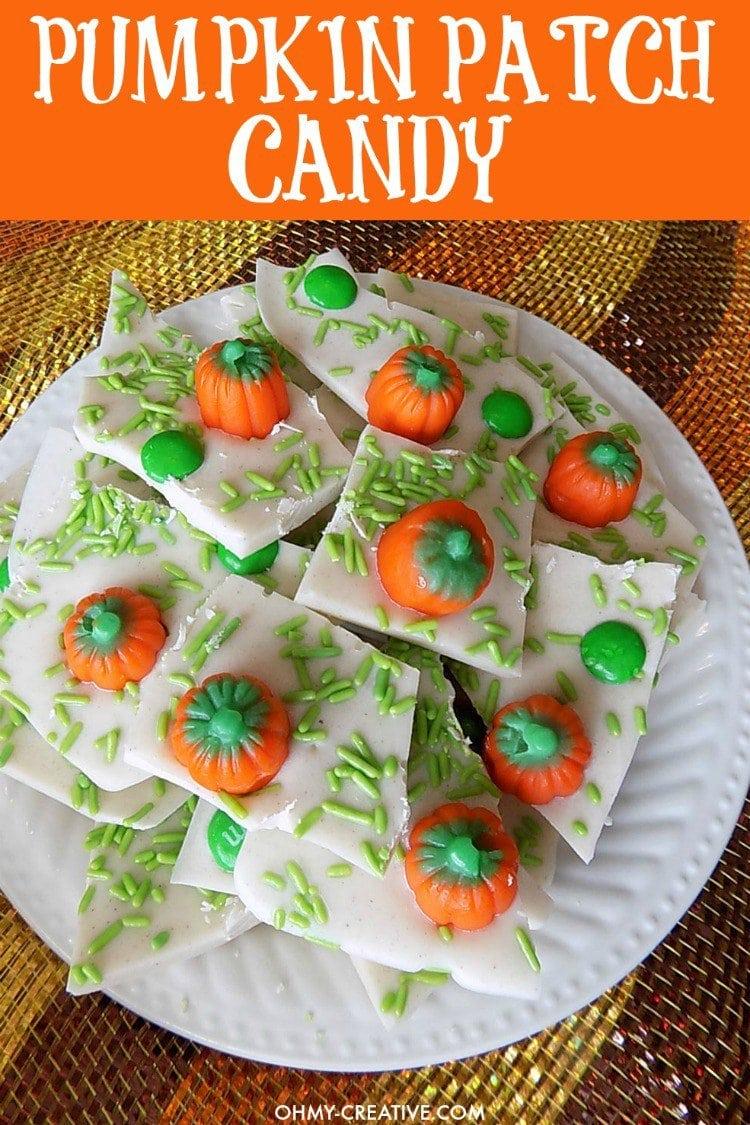 Pumpkin Candy Halloween Treat for kids.