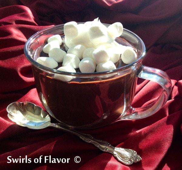 Italian Hot Chocolate Recipe with Marshmallows