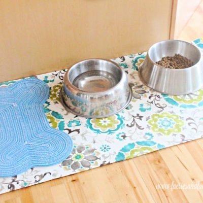 DIY Floor Cloth for Pets