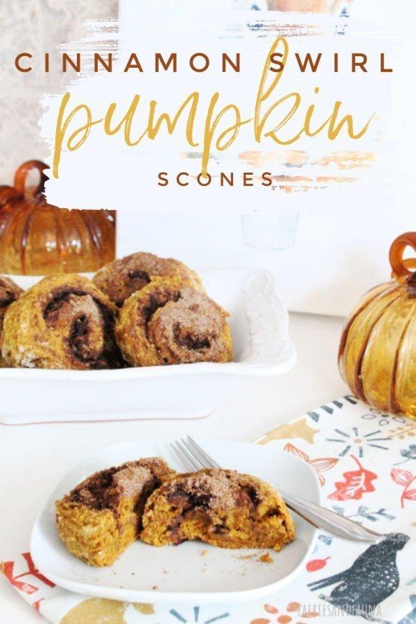 Cinnamon Swirl Pumpkin Scone Recipe