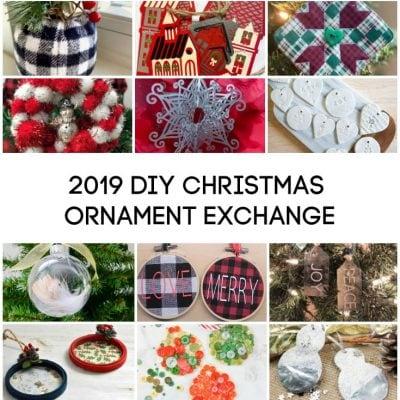 2019 DIY Ornament Exchange Link Party