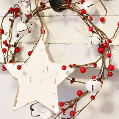 20 Minute Farmhouse DIY Christmas Garland