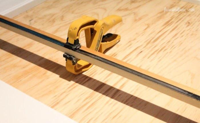 Making a cutting edge on a DIY Scroll saw paper roll