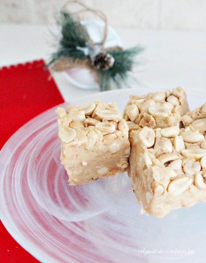 Homemade Peanut Butter Square recipe