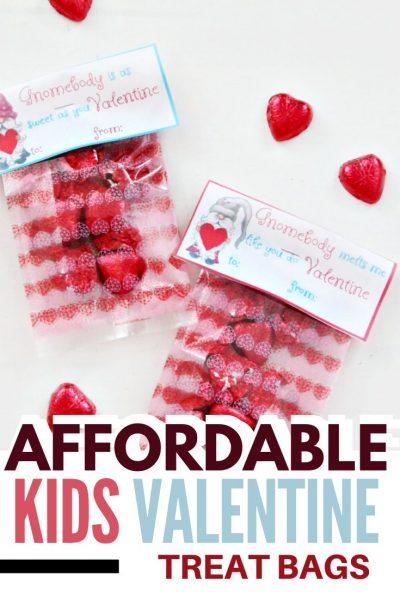valentine bag toppers for kids Valentine gift giving.